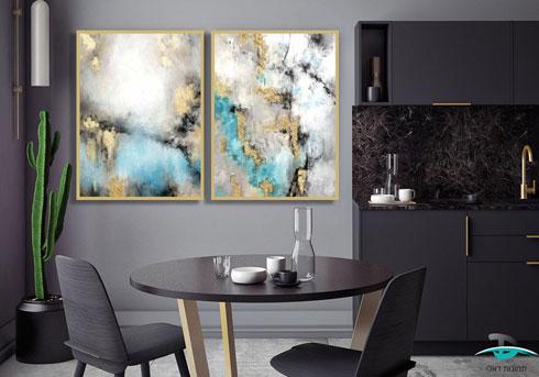 זהב אבסטרקט (צילום: הסטודיו של תמונות דאלי)