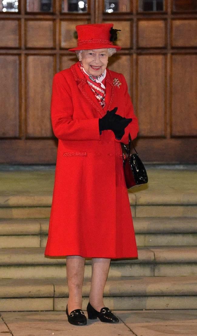 """""""צוחק מי שצוחק אחרון"""". המלכה אליזבת (צילום: gettyimages)"""