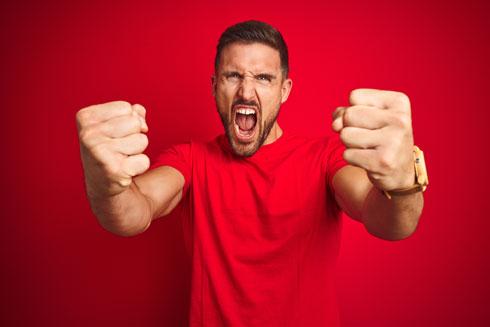 מאדימים מכעס? כל העולם מבין אתכם (צילום: Shutterstock)