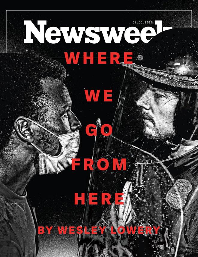 ''לאן נלך מכאן''? הניוזוויק בשיאה של מחאת Black Lives Matter