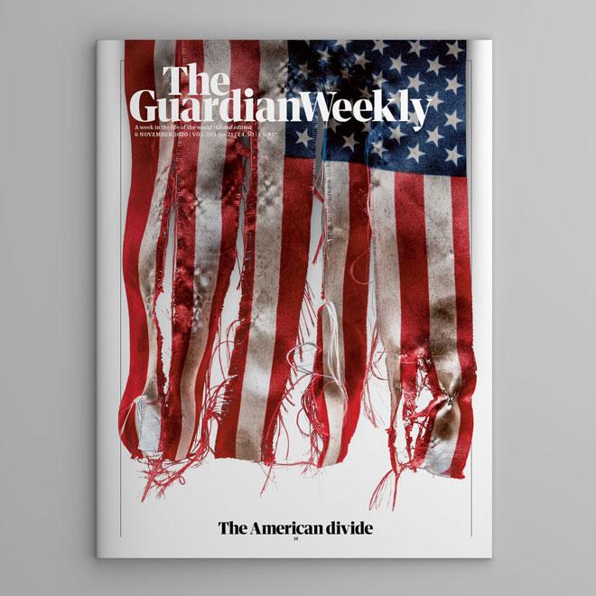 שער המוסף של ה''גארדיאן'' הבריטי, 3 ימים אחרי הבחירות בארצות הברית