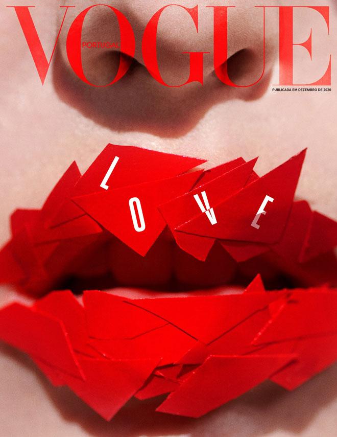 עוד שער עוצמתי מבית היוצר של ווג פורטוגל, החודש. ''אהבה היא ההתחלה והסוף של הכל'', מצוטט המשורר הפורטוגזי פרננדו פסואה, במסר נוסף של תקווה לסיום השנה הקשה