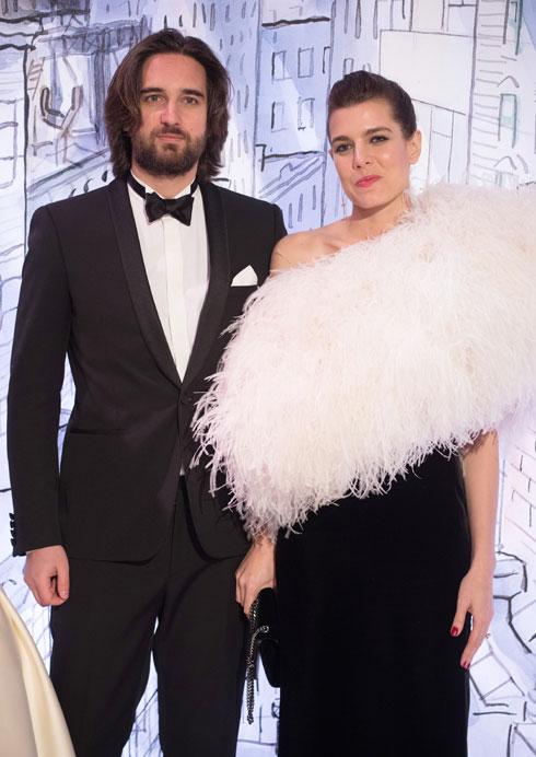 עם בן הזוג דימיטרי ראסם, 2018 (צילום: GettyimagesIL)