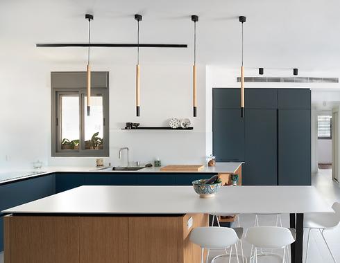 """""""כדי שהמטבח יישאר מינימליסטי, הכל צריך להיות נגיש אבל סגור"""". עיצוב: עירית דר, מטבחי רגבה.  (צילום: אביב פרסבורגר)"""