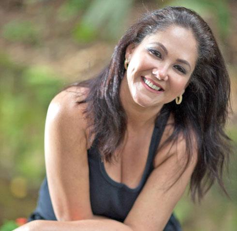 דניאלה שוורץ־שיפר, בתו הביולוגית של בארקן שאיתה לא היה בקשר (צילום: אלבום פרטי)