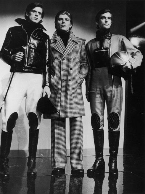 דוגמנים בבגדים של קארדן, 1973 (צילום: GettyimagesIL)