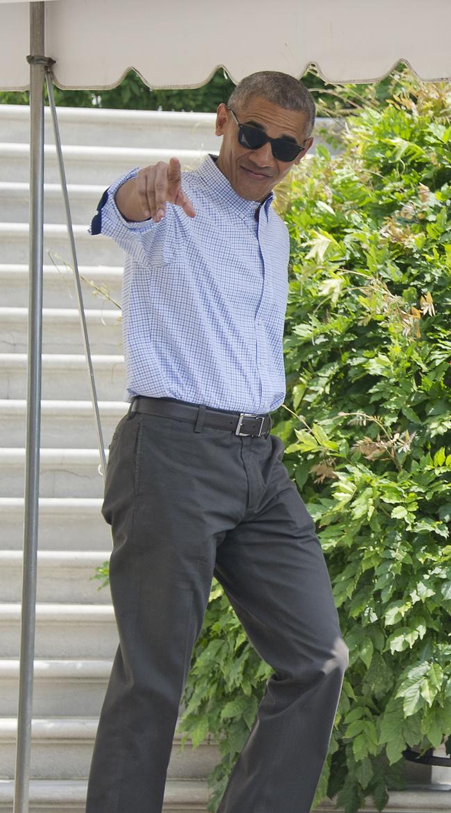 מזל טוב נשמה. ברק אובמה חוגג 60 (צילום: Gettyimages)