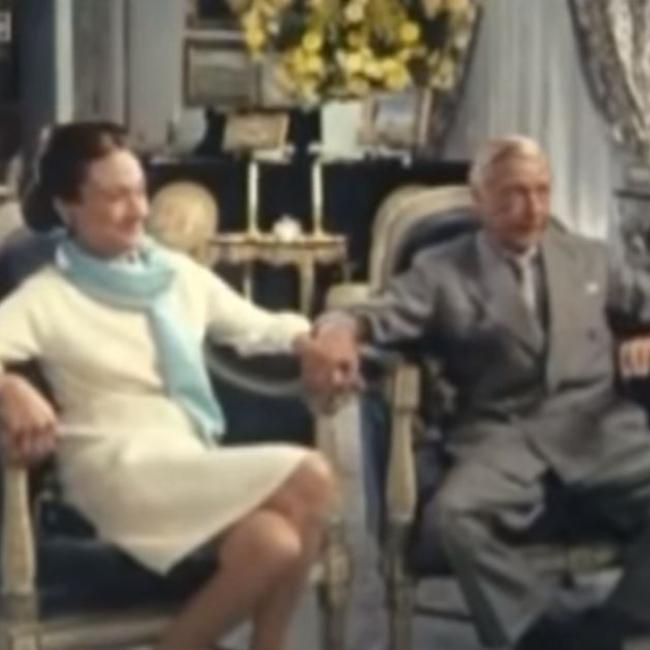 אדוארד ואשתו וואליס סימפסון  (צילום: BBC)
