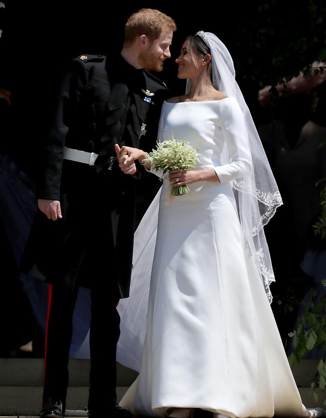 איזה יום זה היה! הנסיך הארי ומייגן מרקל (צילום: Gettyimages)