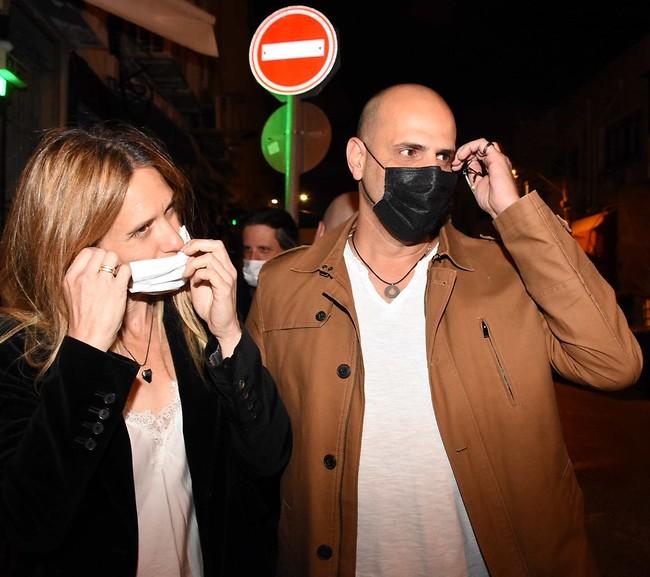 אותך לא ראינו מאז צילומי השער. ליאור כלפון ואשתו מתייצבים לחגיגות (צילום: אמיר מאירי)