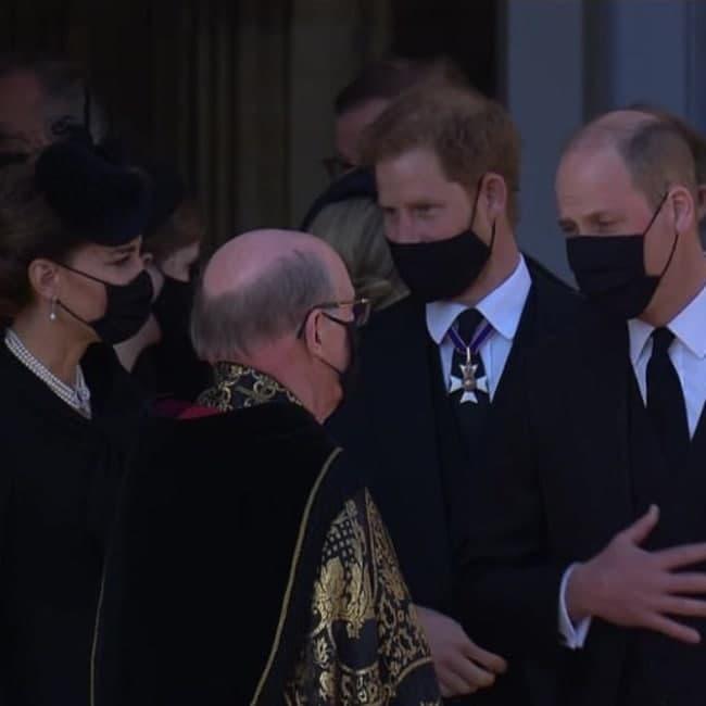 האיחוד. וויליאם, הארי וקייט מידלטון (צילום: BBC)