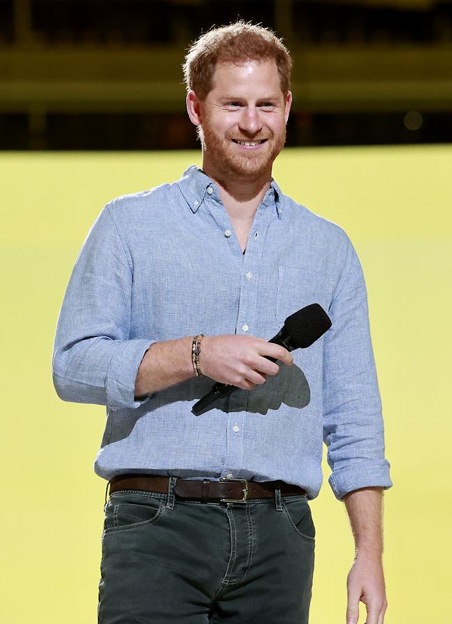 לב זהב. הנסיך הארי (צילום: Gettyimages)