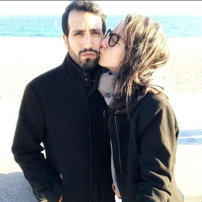 סופיה טייב ובן הזוג רותם (צילום: אינסטגרם)