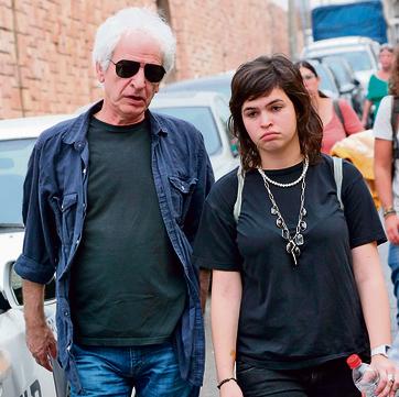 חנוך עם הבת הזמרת רומי | צילום: שאול גולן