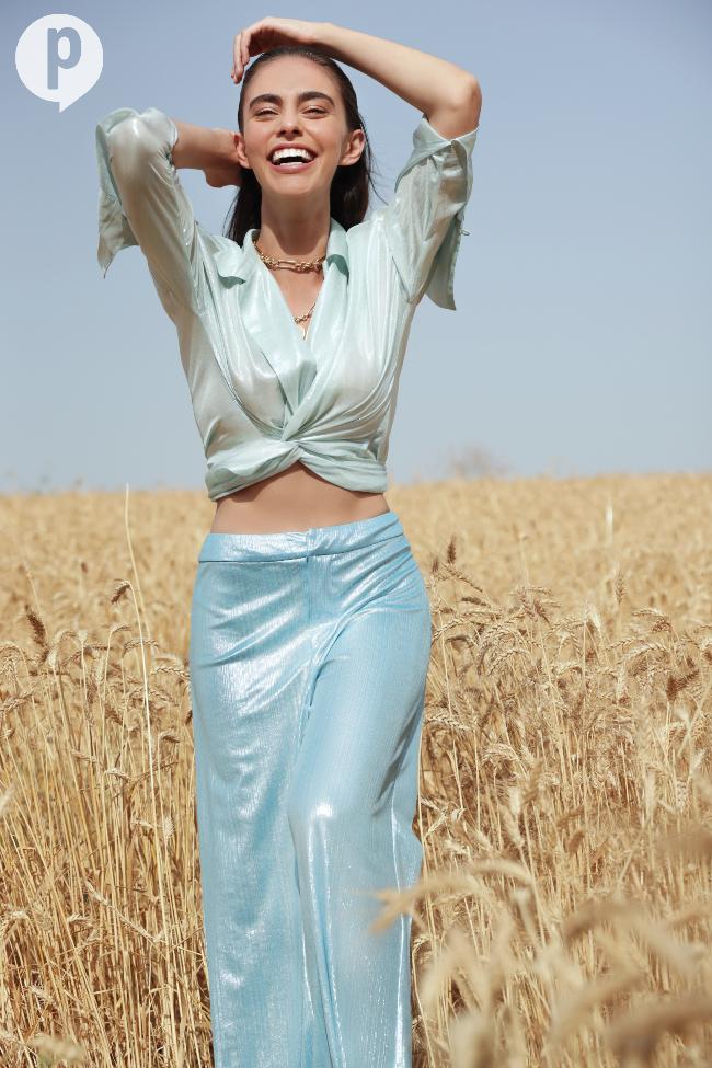 """הולכת להיות """"מלכת היופי של ירושלים"""". אור (צילום: אור דנון)"""
