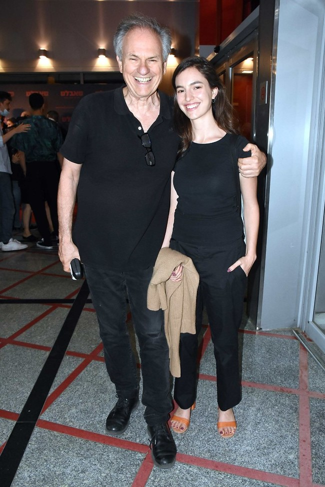 דור שני של כישרון. אבי נשר והבת תום  (צילום: אמיר מאירי)