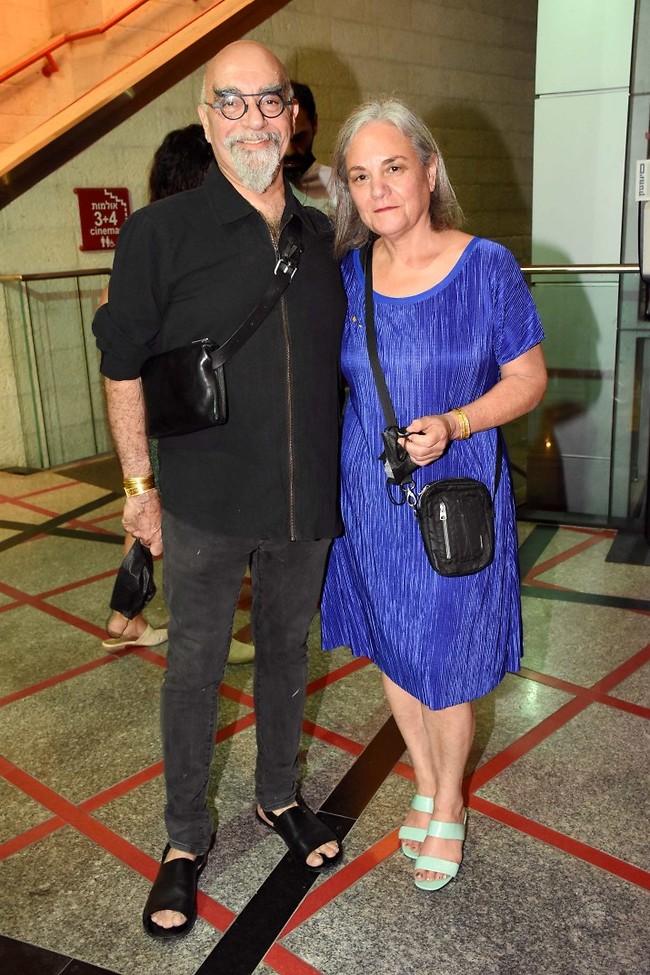 עושה אותנו רעבים. ישראל אהרוני ואשתו חגית (צילום: אמיר מאירי)