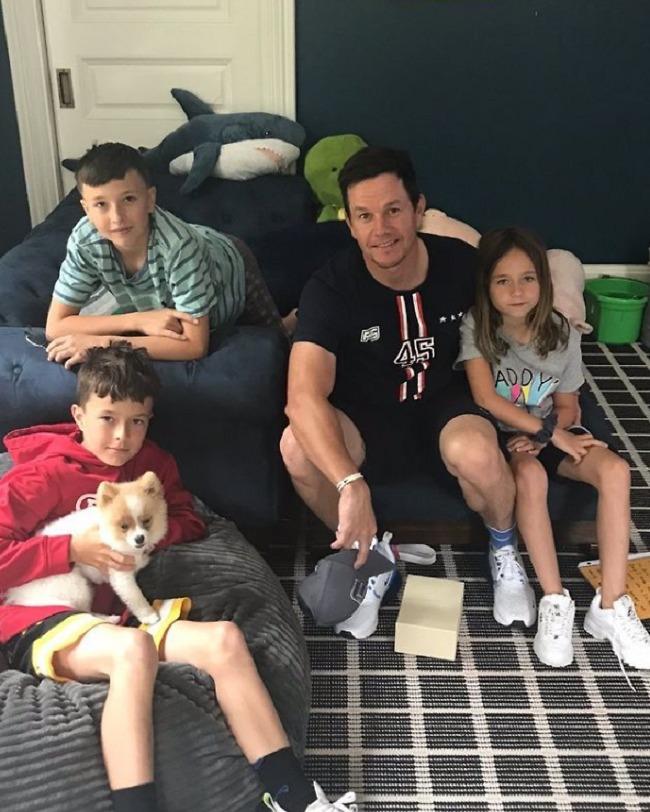 מארק וולברג וילדיו (צילום: אינסטגרם)