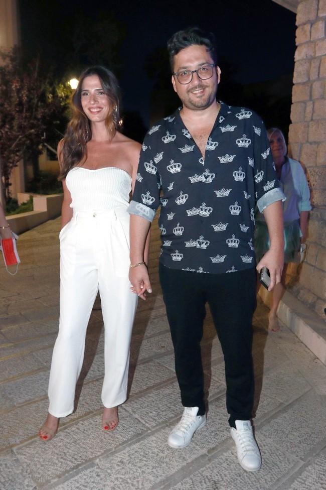 הזוג המלכותי. חן אמסלם ומאור זגורי (צילום: ענת מוסברג)