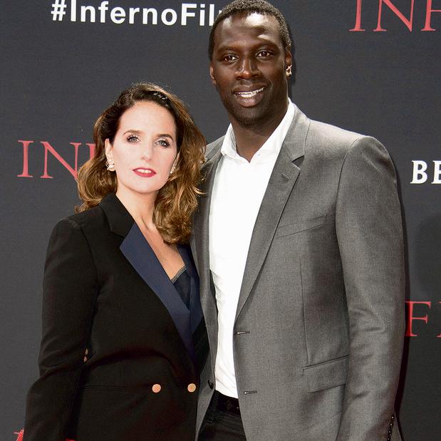 עם אשתו הלן   צילום: איי אף פי