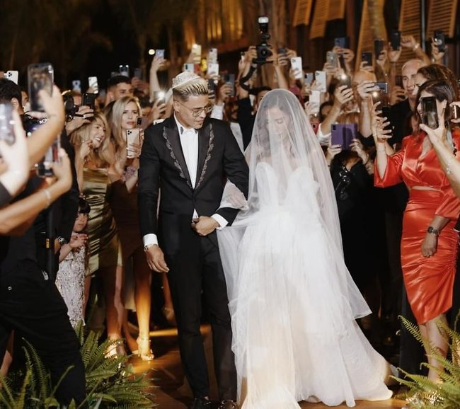 זה סוף סוף קרה! לירז רוסו ושרית פולק בעל ואישה (צילום: תום סיימון)