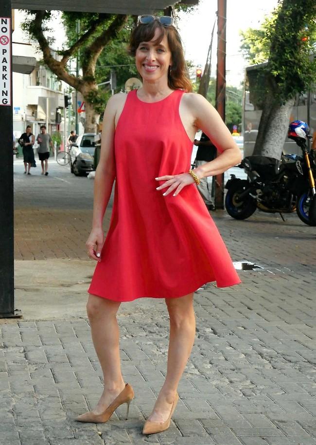 לא בטוחים שאיילת שקד תלבש שמלה כזו. ליאת הר לב (צילום: אמיר מאירי)