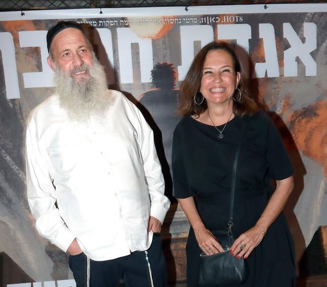 """הכי ביחד. צופית גרנט ושולי רנד אמש בפרימיירה של הסרט """"אגדת חורבן"""" (צילום: ענת מוסברג)"""