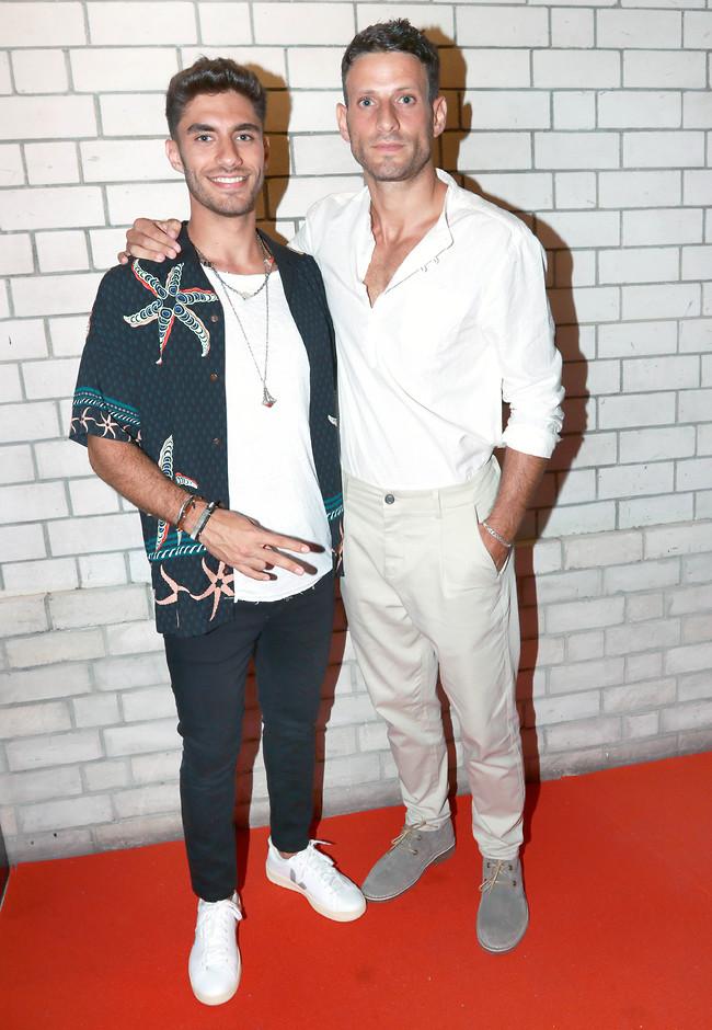לוהטים גם עם בגדים. דניאל ליטמן ובר ברימר (צילום: ענת מוסברג)