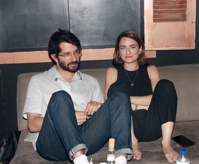 """זוכרים להם חסד נעורים מימי """"השיר שלנו"""" כזוג. רן דנקר ואניה בוקשטיין (צילום ענת מוסברג)"""