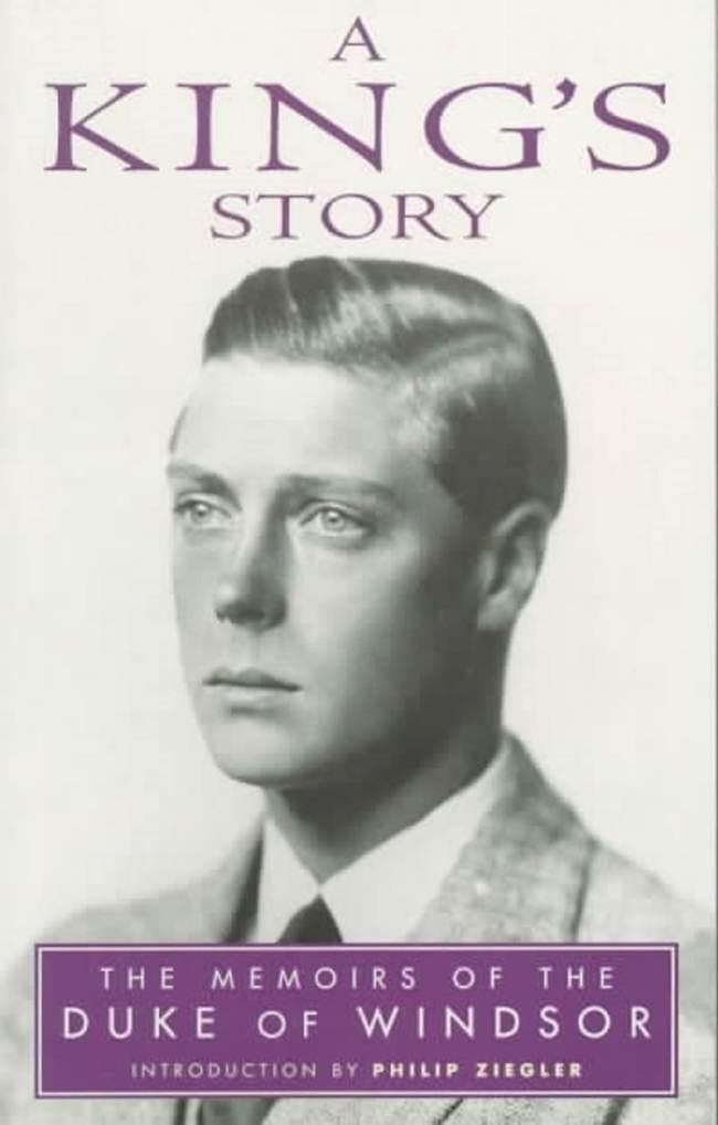 ספרו של המלך אדוארד השמיני (צילום מסך)