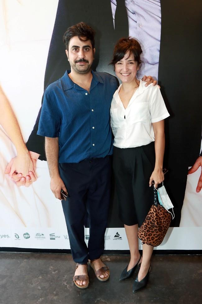 בטוח מצחיק אצלכם בבית. אמיר שורוש ואשתו טלי בן-יוסף  (צילום: ענת מוסברג)