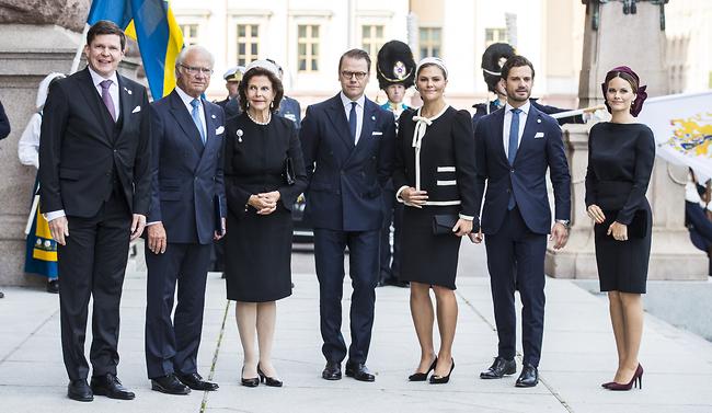 משפחת המלוכה השוודית (צילום: Gettyimage)