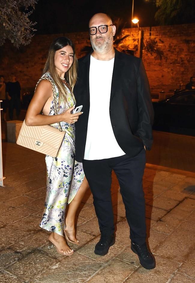 בואו לחגוג. מושיק רוט ואשתו שירן (צילום: אמיר מאירי)