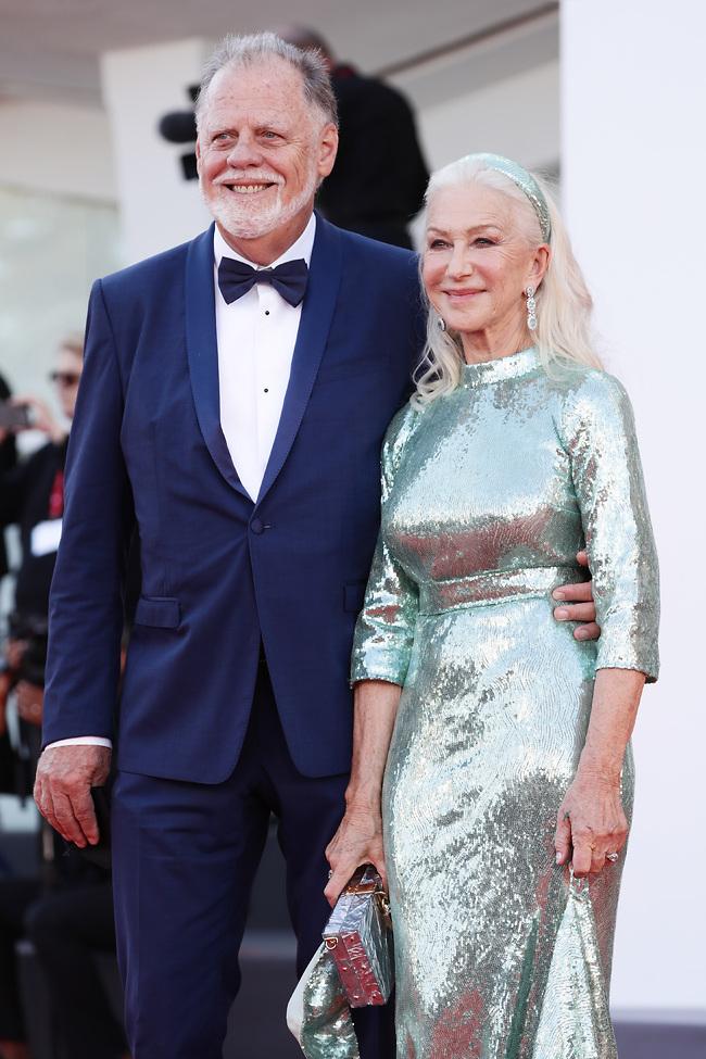 תמיד מושלמת. הלן מירן ובעלה, טיילור הקפורד  (צילום: GettyImages)