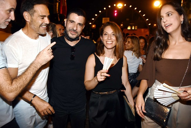 מי שעשה חיסון שלישי שיגיד אני! רותם ישראלי, הילה קורח, שרון גל ודני רופ  (צילום: אמיר מאירי)