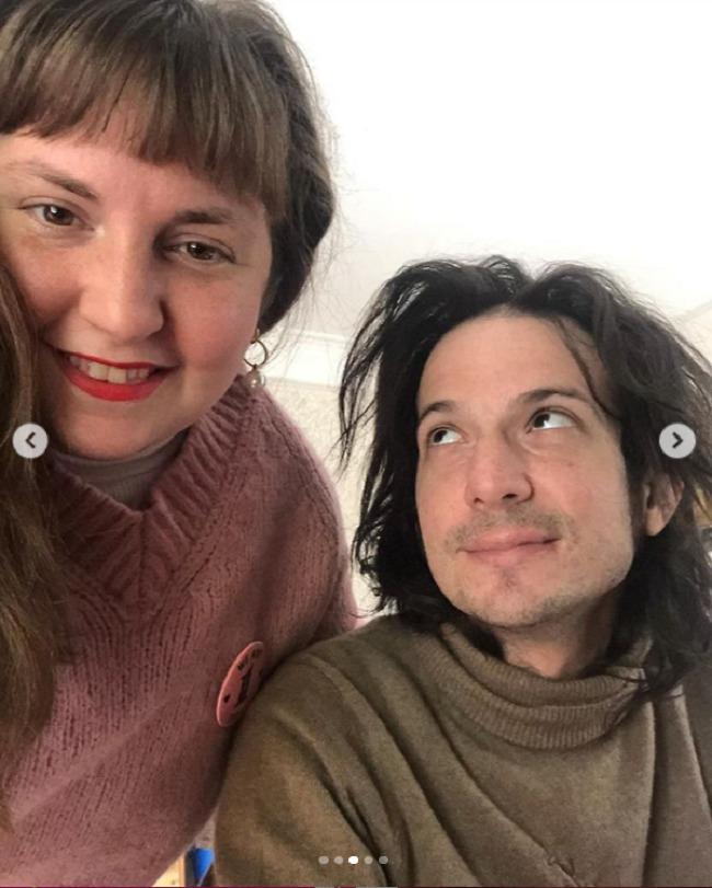 יש יהלום! דנהאם ופלבר (צילום: אינסטגרם)
