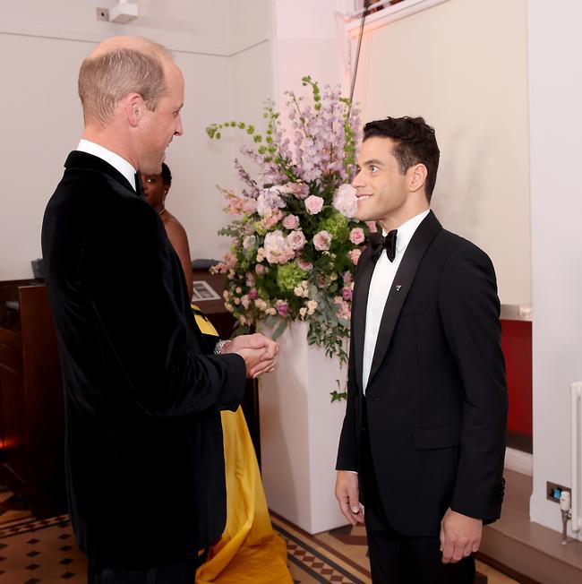שיחת חולין. רמי מאלק והנסיך וויליאם (צילום: Gettyimage)