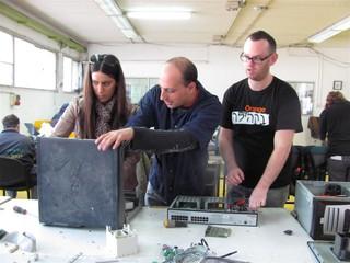 המפעל למיחזור פסולת אלקטרונית