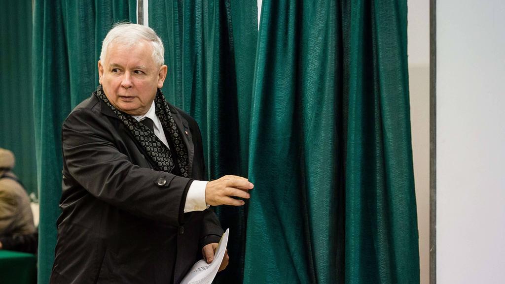 Une nouvelle page dans une relation? Le leader polonais Jaroslaw Kaczynski