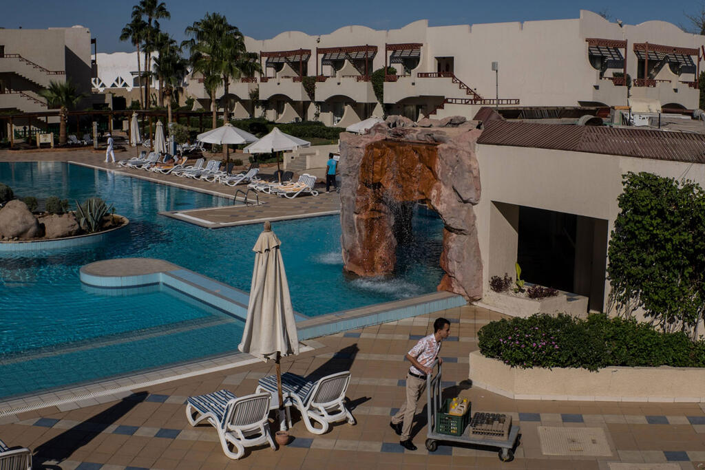 Et vous pouvez également faire du Sinaï dans une station balnéaire du sud de la péninsule