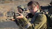 IDF female combat soldiers