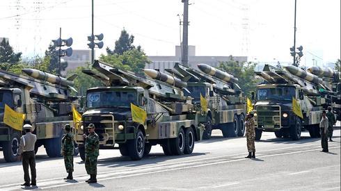 מצעד צבאי באיראן