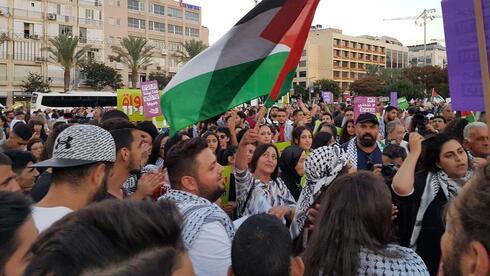 הפגנה בכיכר רבין