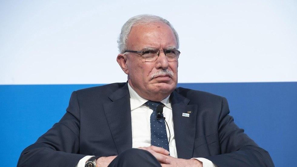 שר החוץ הפלסטיני ריאד אל מלכי