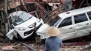 נזקי הצונאמי באינדונזיה