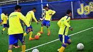 Soccer Gaza cancer