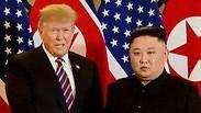 """נשיא ארה""""ב דונלד טראמפ שליט צפון קוריאה קים ג'ונג' און פסגה וייטנאם"""