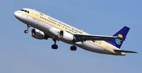 מטוס חברת סעודיה