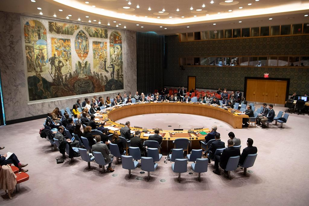 """מועצת הביטחון של ה או""""ם"""