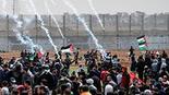 התפרעויות פלסטינים עזה